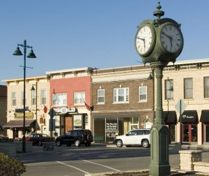 Photo of downtown Lemont Ill by Main Street GC inc