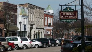 Photo of Historic Downtown Hinsdale - Main Street Illinois Roofing