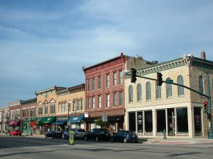 Photo of downtown lockport Illinois by Main Street GC Inc